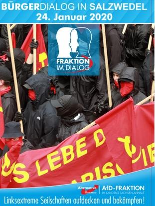 Flyer AfD Bürgerdialog